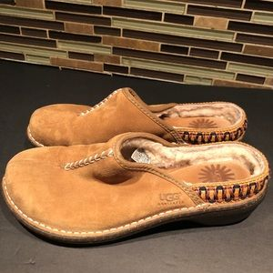 UGG Shoes - UGG Kohala Suede Slip Ons Size 8